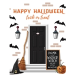 Happy Halloween Printed Backdrop