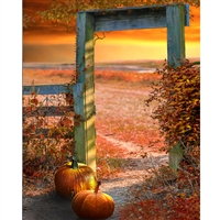 Autumn Gate Printed Backdrop