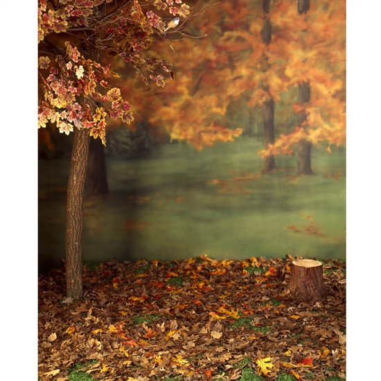 Autumn Forest Printed Backdrop