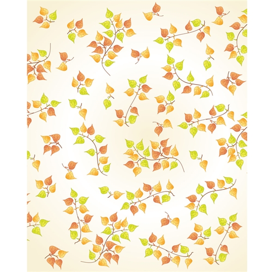 Fall Leaf Vines Printed Backdrop