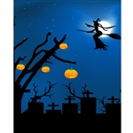 Bewitching Night Printed Backdrop