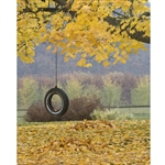 Tire Swing Printed Backdrop