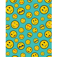 Emojis Printed Backdrop