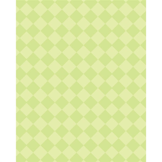 Green Argyle Printed Backdrop