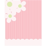 Flower & Wallpaper Printed Backdrop