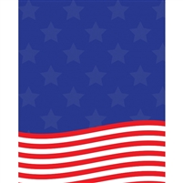 American Flag Printed Backdrop