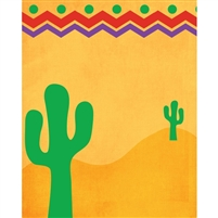 Southwest Desert Cacti Printed Backdrop