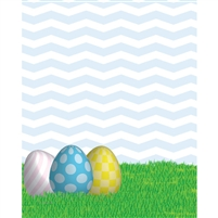 Easter Eggs Printed Backdrop