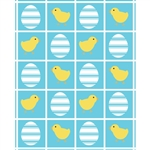 Ducks & Easter Eggs Printed Backdrop