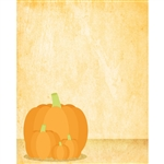 Batch of Pumpkins Printed Backdrop