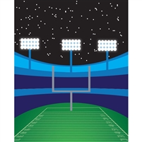 Football Stadium Printed Backdrop