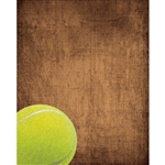 Tennis Ball Printed Backdrop