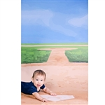 Home Plate Printed Backdrop