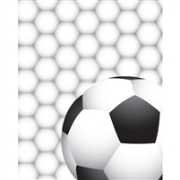 Soccerball Printed Backdrop