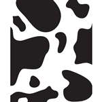 Cow Spots Printed Backdrop