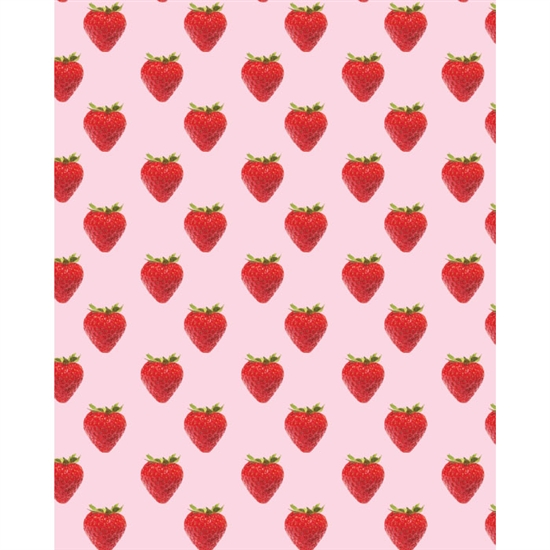 Strawberry Wallpaper Printed Backdrop