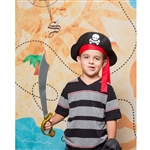 Pirate's Treasure Map Printed Backdrop