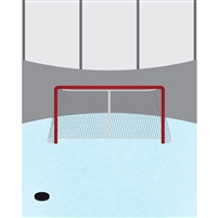 Goaltender Printed Backdrop