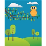 Spring Landscape Printed Backdrop