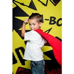 Comicbook Printed Backdrop