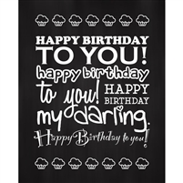 Happy Birthday to You! Printed Backdrop