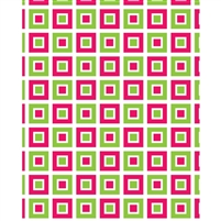 Retro Squares Printed Backdrop