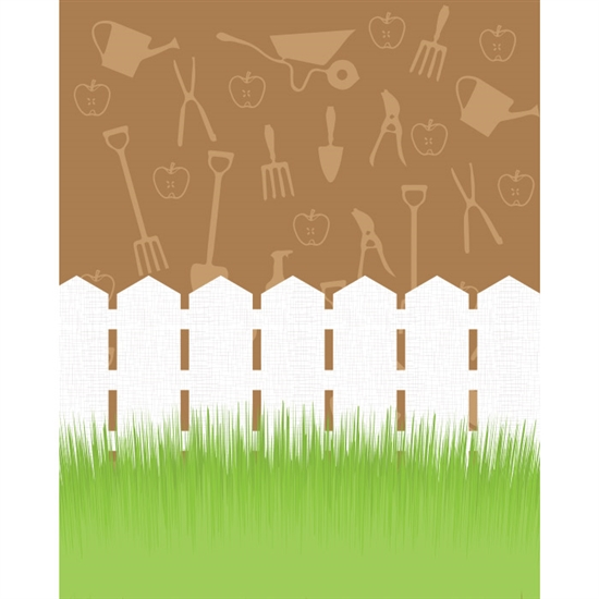 Gardening Printed Backdrop