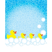Rubber Ducky Bath Printed Backdrop