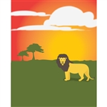 African Savanna Printed Backdrop