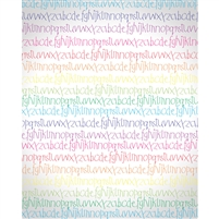 Colorful Writing Printed Backdrop