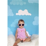 Clouds Printed Backdrop