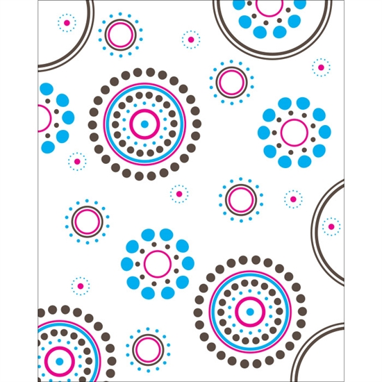 Rippling Circles Printed Backdrop