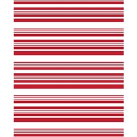 Red Stripes Printed Backdrop