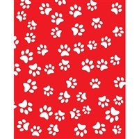 Dog Paws Printed Backdrop