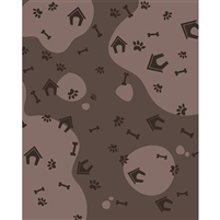 Doggie Life Printed Backdrop