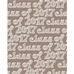 Class of 2017 Sketched Printed Backdrop