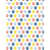 Paws Printed Backdrop