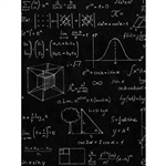 Science Formula Chalkboard Printed Backdrop