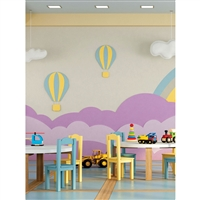 Playroom Printed Backdrop
