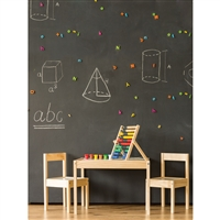 Small Classroom Printed Backdrop