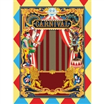 Circus Carnival Printed Backdrop
