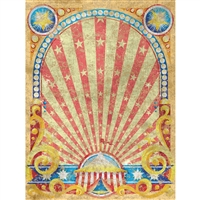 Circus Star Printed Backdrop