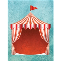 Circus Tent Printed Backdrop