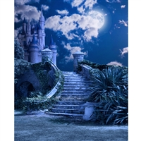 Enchanted Castle Printed Backdrop