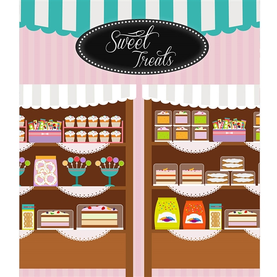 Sweet Treats Printed Backdrop
