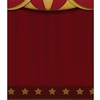 Big Top Printed Backdrop