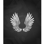 Soaring Wings Printed Backdrop