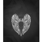 Angel Wings Printed Backdrop