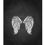 Eagle Wings Printed Backdrop