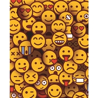 Emoji Crowd Printed Backdrop